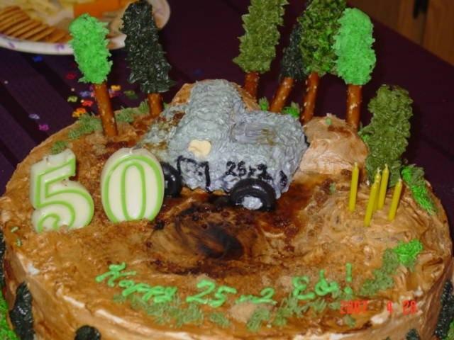 Jeep Becky Birthday Cake