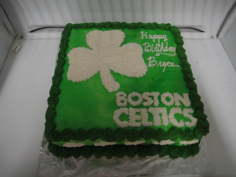 Boston Celtics Birthday