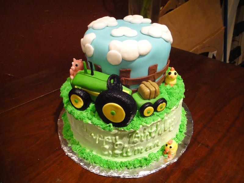 John Deere Tractor Birthday