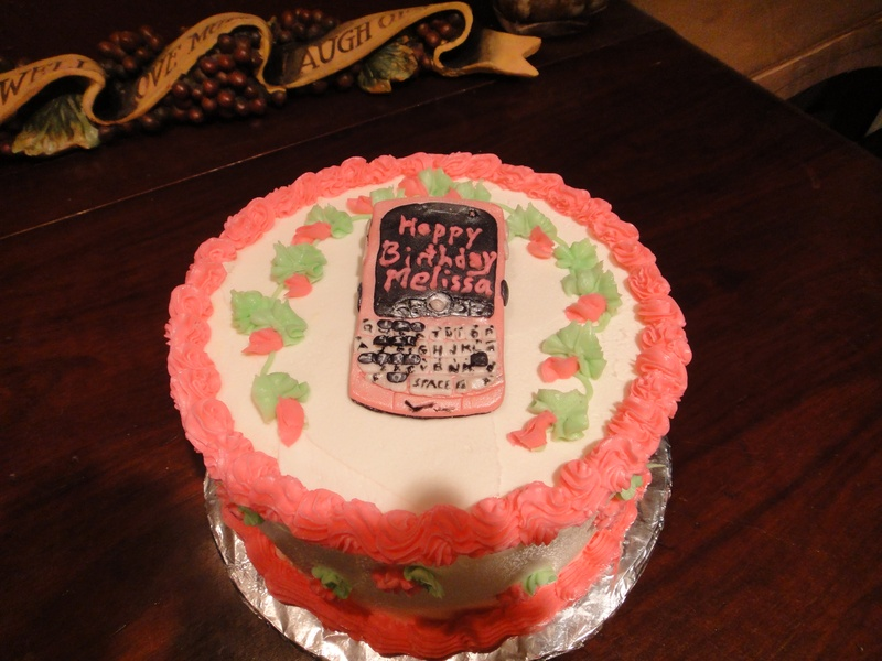 Pink Blackberry Birthday
