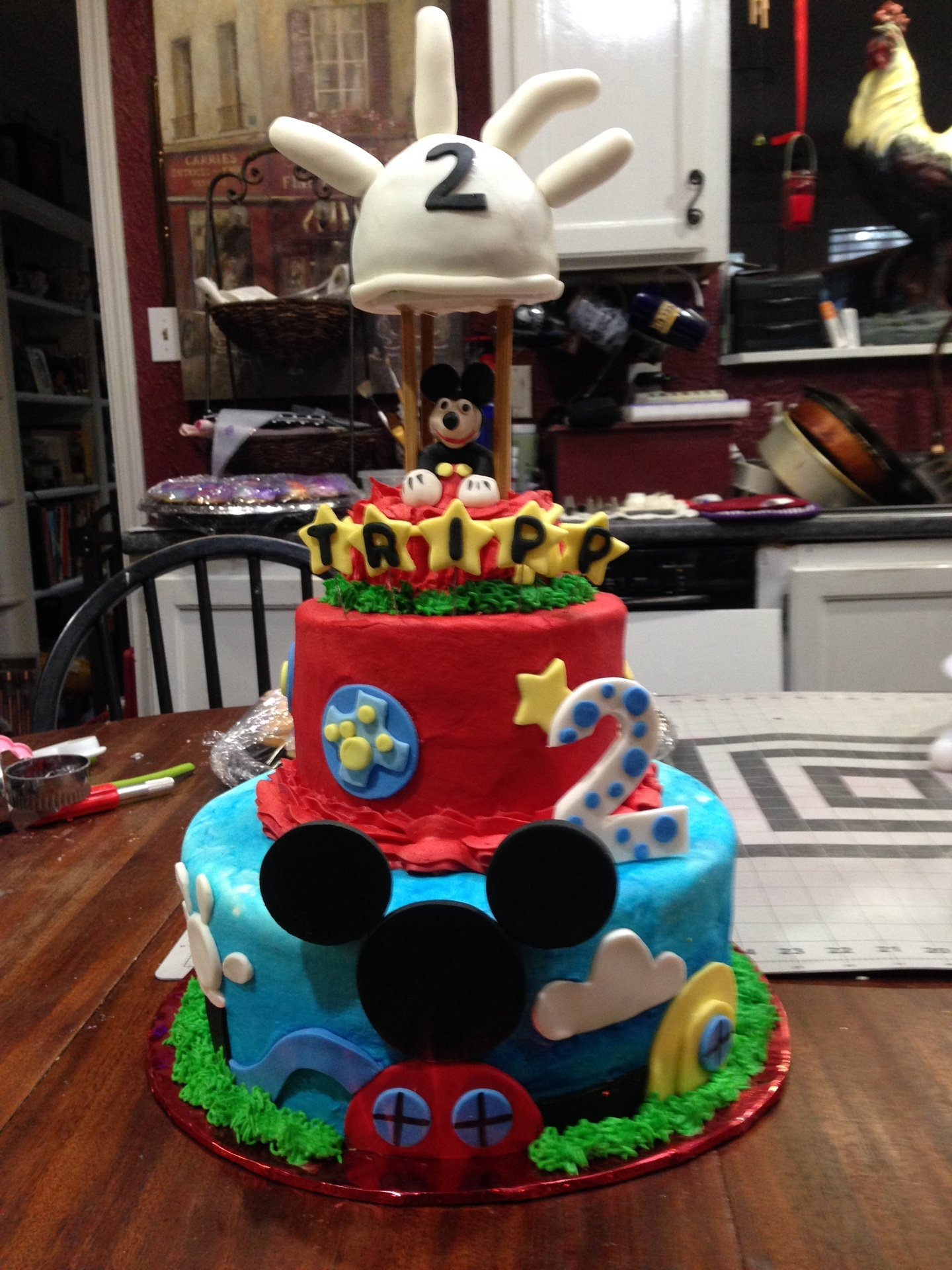 Mickey Clubhouse baloon